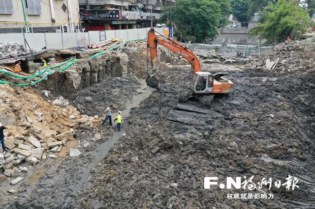 """福州城區水系治理加速展開""""清盤行動"""""""