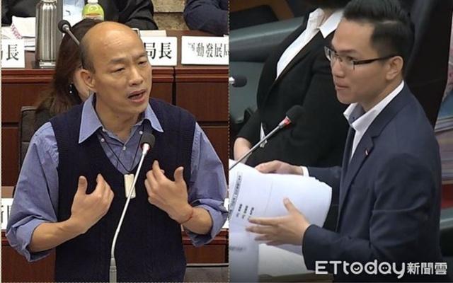 """绿议员惹怒韩国瑜!遭""""韩粉""""反问:爱河有几条鱼?"""