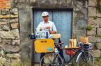 """福州:烟台山巷弄的单车""""咖啡屋"""""""