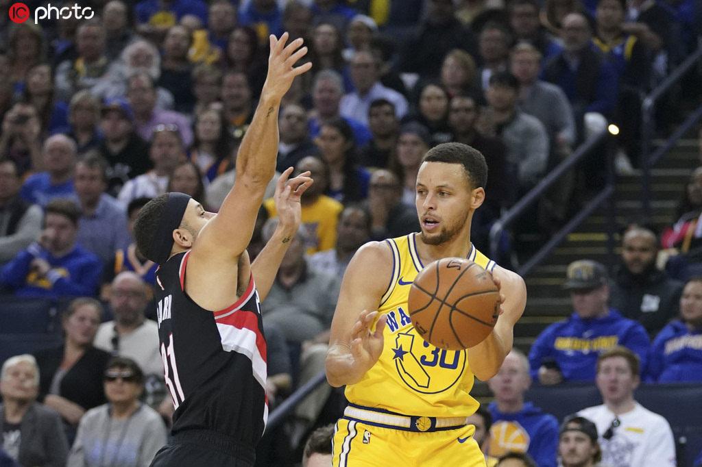 NBA勝率分析:勇士優勢明顯 首戰或能大勝開拓者