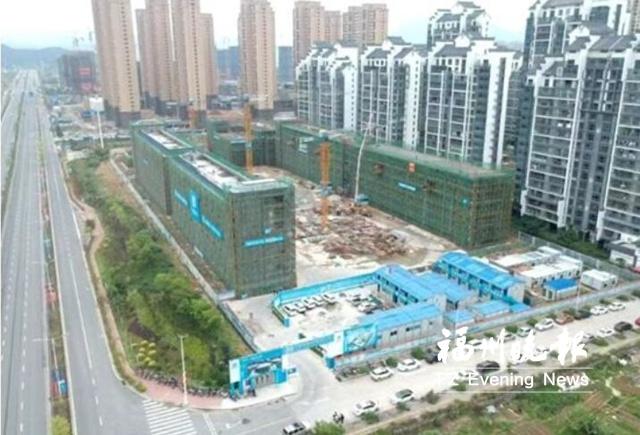 福清滨江小学第二校区全面封顶 明年9月投入使用