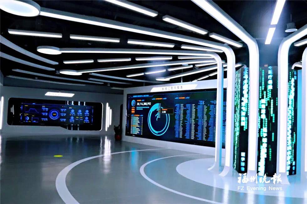 國家健康醫療大數據試點工程(福州)成果展示中心升級亮相