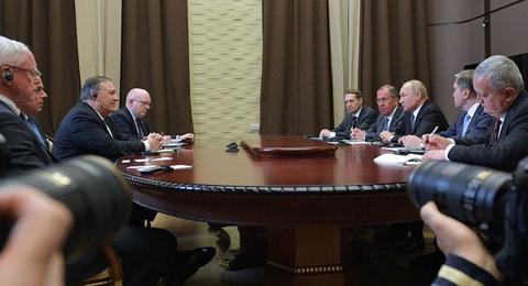 普京会见美国务卿怎么回事 普京会见美国务卿谈的是什么?
