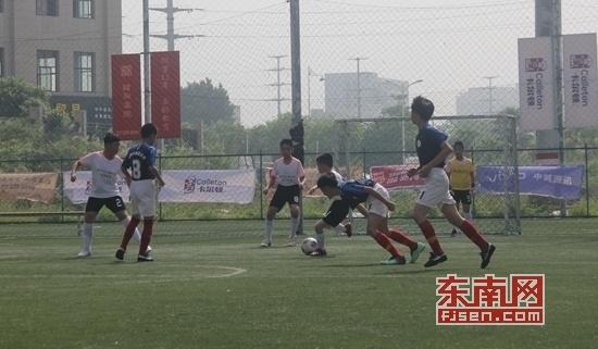 漳州市龙文区第二届小学生五人制足球赛开赛