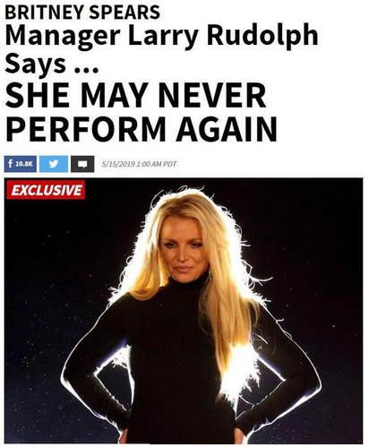 布兰妮或将永久不再驻唱怎么回事?布兰妮为什么永久不再驻唱得病了吗