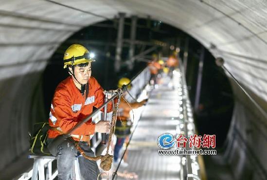 福廈鐵路開啟全線接觸網檢修 國慶前達到提速標準