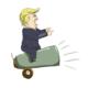 """特朗普车队遇车祸出师不利 大谈""""经济增长""""前先遇队伍减员"""