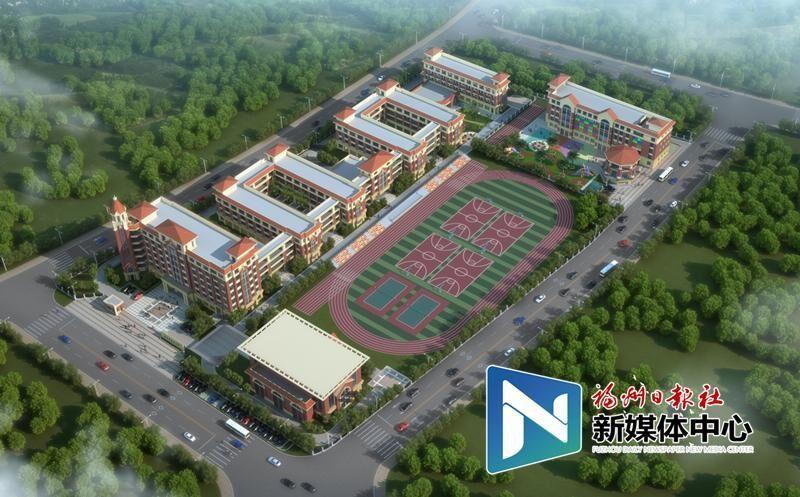连江温泉小学部分主体建筑已封顶 今秋正式招生