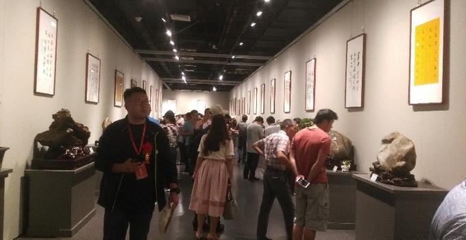 漳州举办极云彩票官网赏石文化交流展 百种珍品齐亮相