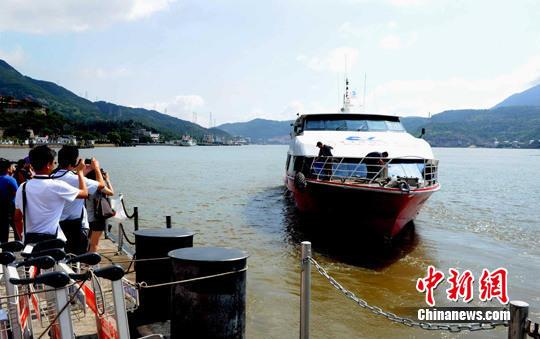 """""""两马""""新航线开通在即 福州奖励赴马祖游"""