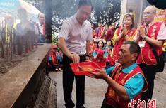 台湾270名信众赴福建湄洲妈祖祖庙进香