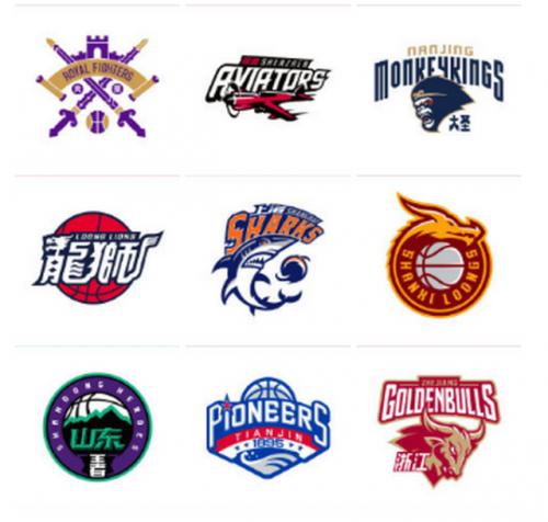 CBA球队新logo