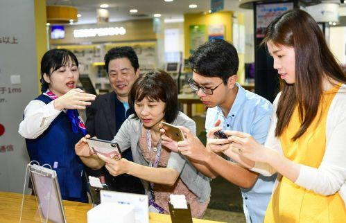 """福州:""""5.17""""电信7家5G体验营业厅向公众开放"""