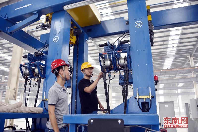 漳州首个钢结构装配式制造基地预计6月可试投产