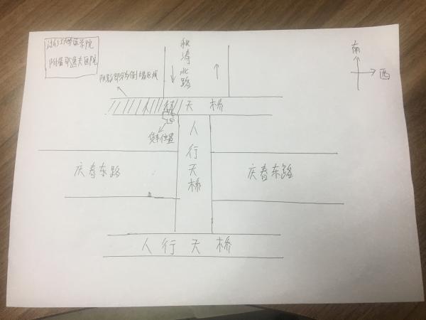 杭州闹市区一人行天桥垮塌:遭夜行货车所载超高金属构件撞击