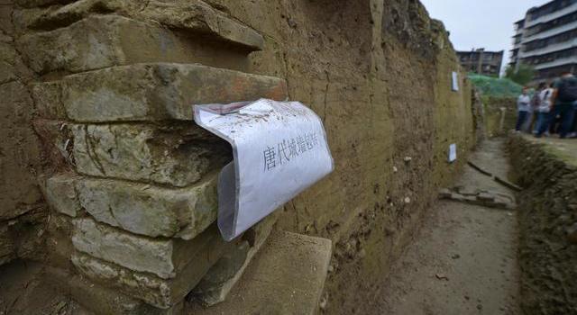 成都发现唐代城墙有何意义,唐代城墙长什么样子现场图