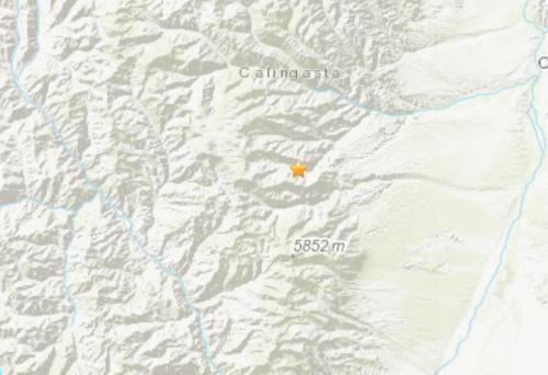 阿根廷5.6级地震