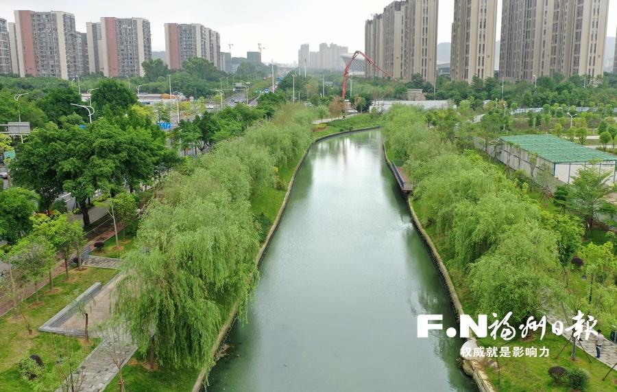 """福州城区首条开展验收的河道飞凤河完成""""初试"""""""