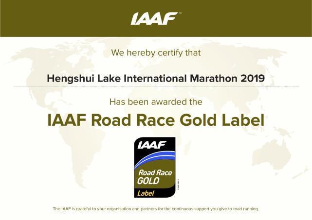 国内马拉松金标赛事再添一员 衡马升级国际金标