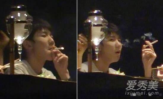 王源吸烟照曝光,王源吸烟照曝光什么样子,王源道歉说了什么