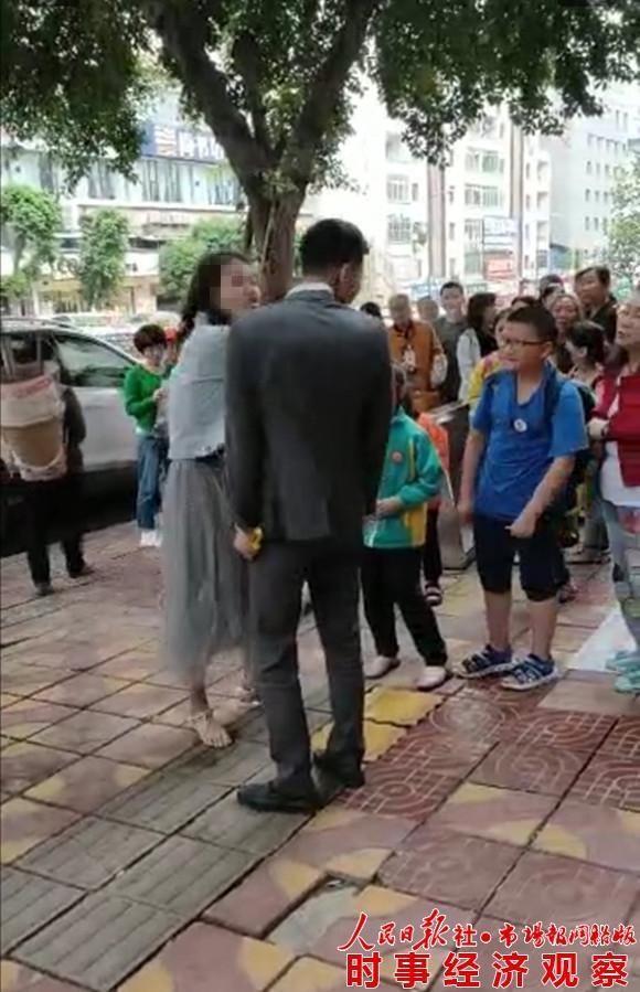520美女啪啪狂扇男人耳光秀恩爱? 律师:大街上打人耳光涉嫌违法