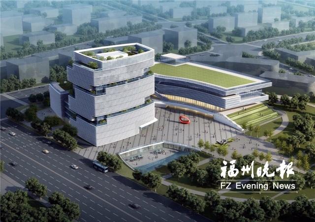 滨海新城将建福州第二工人文化宫 分为三大功能区