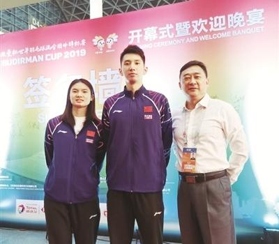 漳州小将韩悦、韩呈恺首次代表国家队征战苏迪曼杯