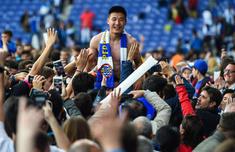 武磊当选西甲官方第38轮MVP 他用一球点燃全场