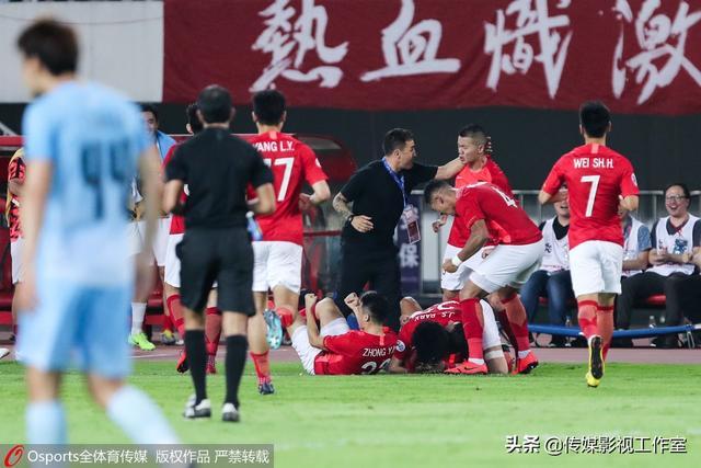 亚冠-广州恒大1-0大邱FC晋级,保利尼奥头球造成大邱乌龙