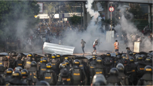 印尼大选引发冲突