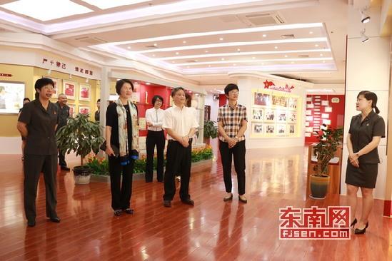 福建省妇联主席徐姗娜深刻芗城法院调研
