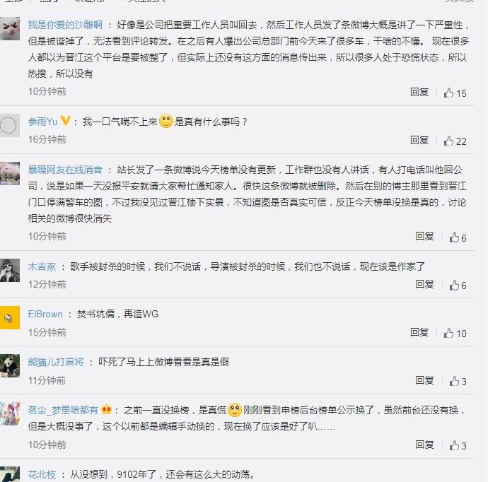 晋江书城要凉了吗晋江停警车是怎么回事