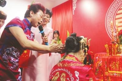 福州喜娘文化:正积极创新 也正努力为自己喝彩
