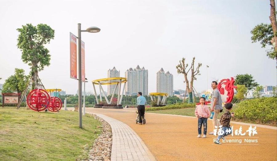 福清市镇两级社会主义核心价值观主题公园亮相