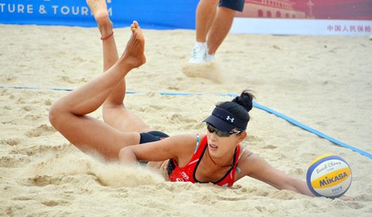 2019年世界沙滩排球巡回赛晋江站开赛