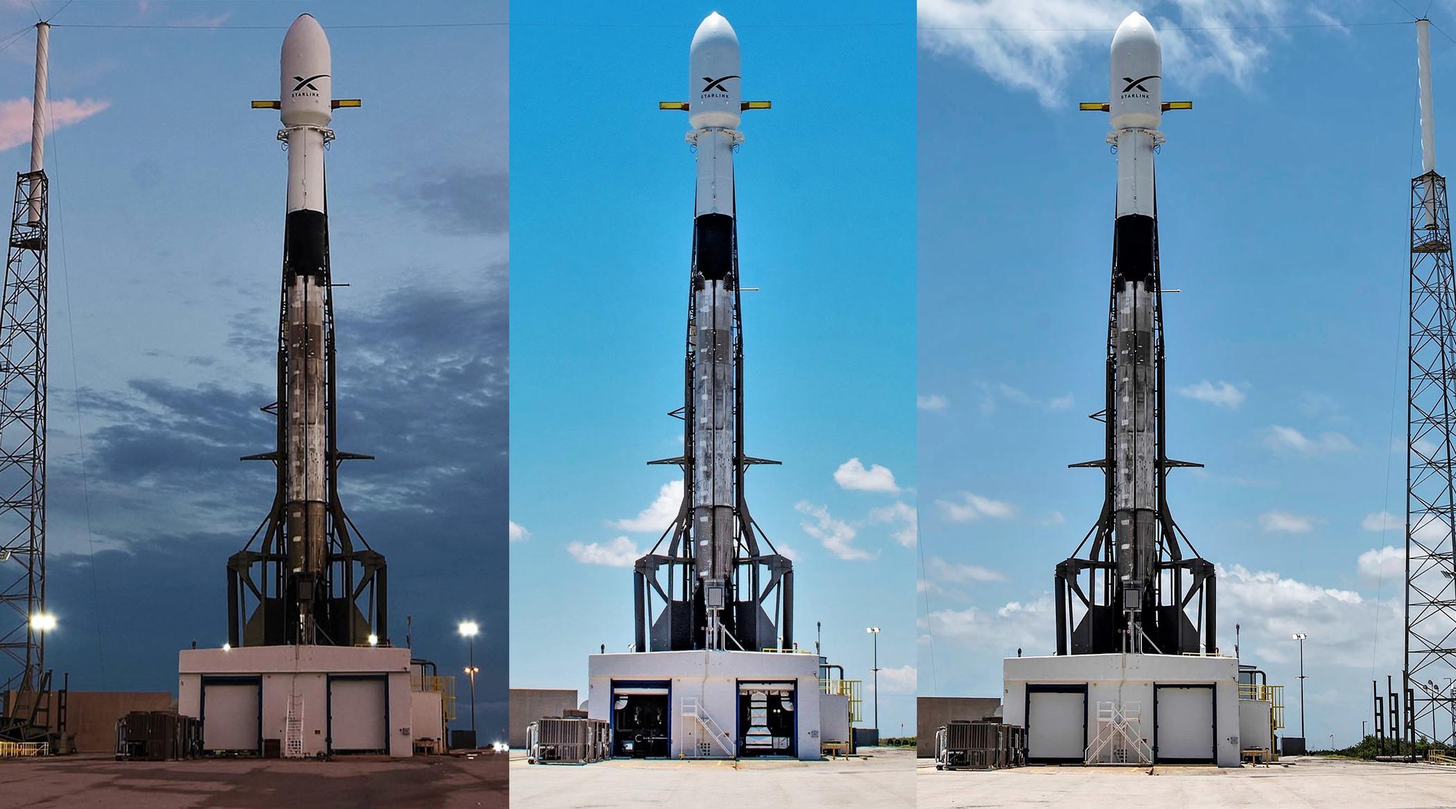 SpaceX发射60颗太空宽@ 带网络卫星 建太空互联网