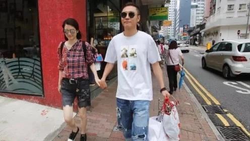 洪欣张丹峰逛街引�热议