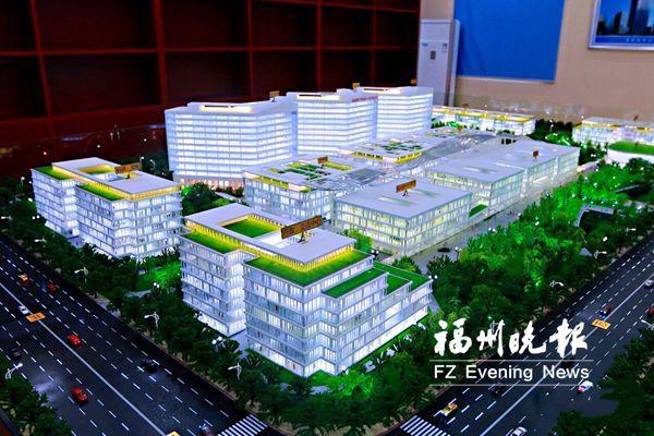 滨海新城综合医院进入主体工程施工 明年10月竣工并投入使用