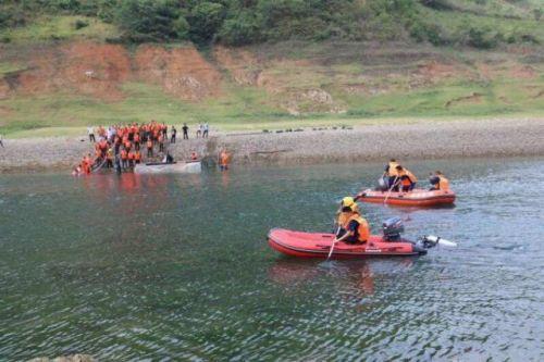 贵州船只侧翻失联怎么回事 已有11人被救援生还
