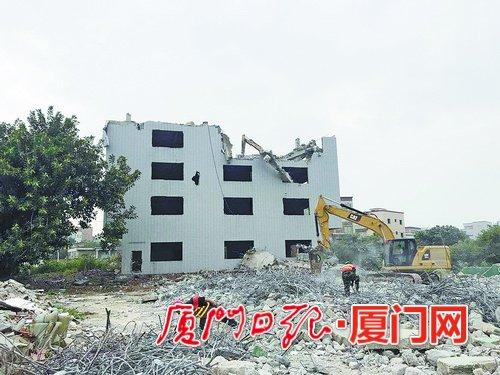 厦门同安区洪塘镇稳步推进征拆 护航高铁建设
