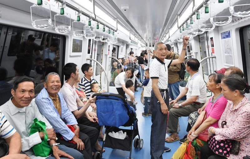 """福州地铁2号线试运营""""满月""""总开行列次达8152列"""