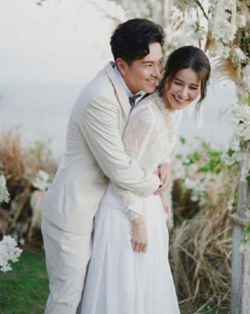 萧正楠晒婚礼照被曝光 萧正楠黄翠如个人资料两人何时结婚的