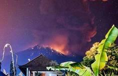 巴厘岛火山再喷发怎么回事 火山口3公里内满是岩浆