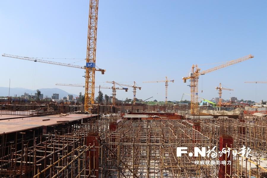 福州滨海新城安置房四期项目年内主体工程封顶