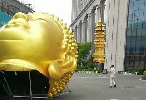 权健华东总部佛像佛头拆除怎么回事?权健事件最新消息进展