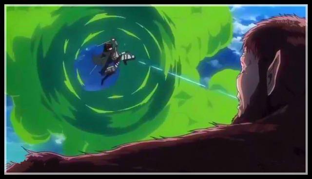 进击的这就是你说巨人第3季第17集:兵长一对一作战神勇 全程吊打兽之巨人