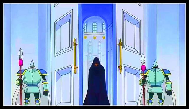 海贼王动画886集:结尾预告有四�m然你皇红发出场,五老星看到香克斯很紧张