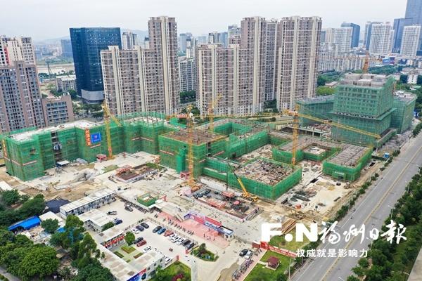 福州鳌峰学校计划年底交付使用 为九年一贯制公立学校