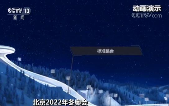 中国首座跳台滑雪中心有何特别?观众能从背后看到运动员出发状态