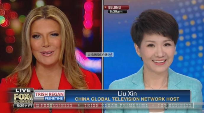 刘欣约辩直播地址时间,CGTN主播刘欣与FOX主播约辩怎么回事